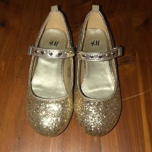 H&M glitter shoes